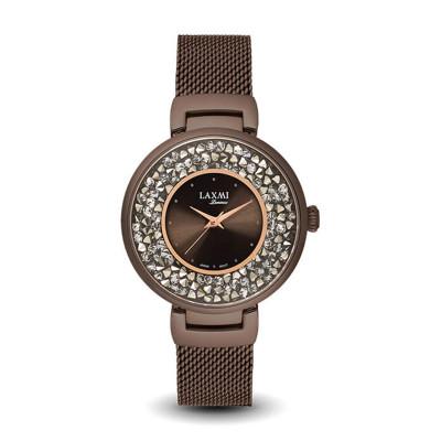 ساعت مچی زنانه اصل   برند لاکسمی   مدل  laxmi 8032-6