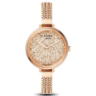 ساعت مچی زنانه اصل | برند لاکسمی | مدل  laxmi 8065-2