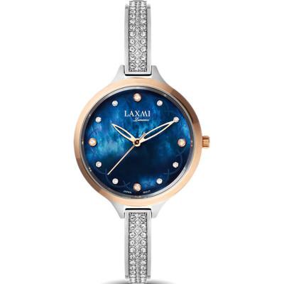 ساعت مچی زنانه اصل | برند لاکسمی | مدل  laxmi 8067-1