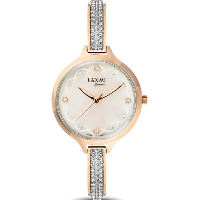 ساعت مچی زنانه اصل | برند لاکسمی | مدل  laxmi 8067-4