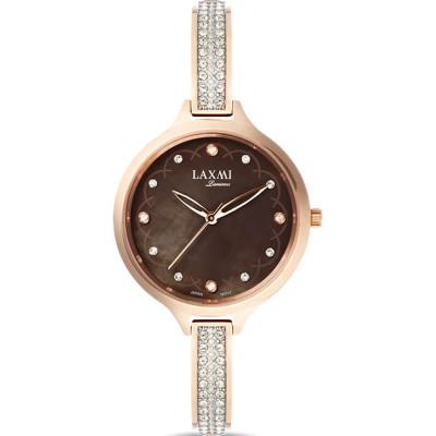 ساعت مچی زنانه اصل | برند لاکسمی | مدل  laxmi 8067-5