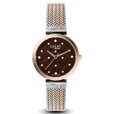 ساعت مچی زنانه اصل | برند لاکسمی | مدل  laxmi 8070-4
