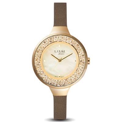 ساعت مچی زنانه اصل | برند لاکسمی | مدل  laxmi 8075-3