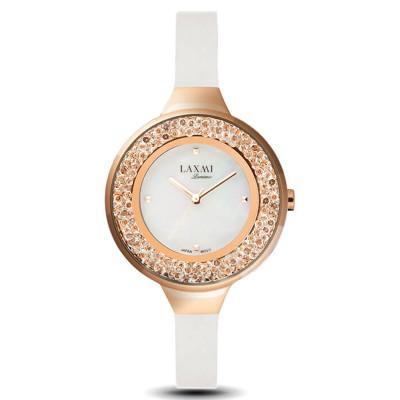 ساعت مچی زنانه اصل | برند لاکسمی | مدل  laxmi 8075-5