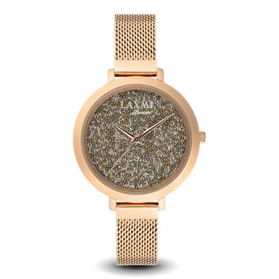 ساعت مچی زنانه اصل | برند لاکسمی | مدل  laxmi 8076-2