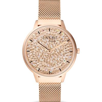 ساعت مچی زنانه اصل | برند لاکسمی | مدل  laxmi 8077-4