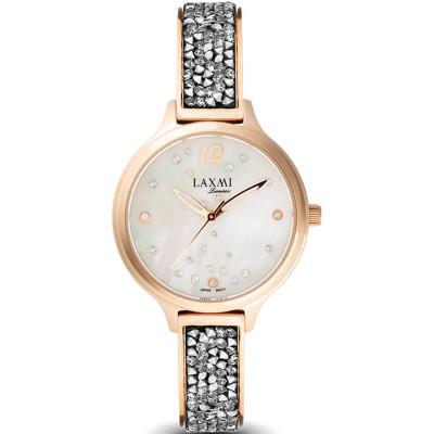 ساعت مچی زنانه اصل | برند لاکسمی | مدل  laxmi 8079-1