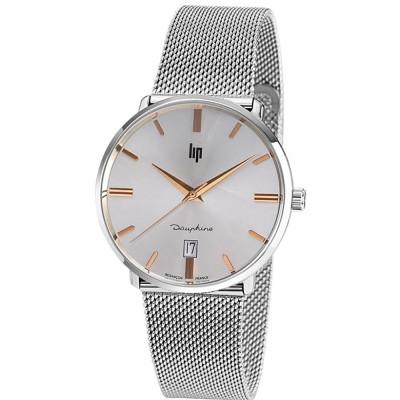 ساعت مچی مردانه اصل | برند لیپ | مدل LIP 671425