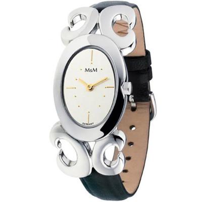 ساعت مچی زنانه اصل |برند ام اند ام | مدل M11824-462
