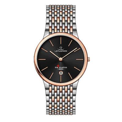 ساعت مچی مردانه اصل   برند لوتوسمن   مدل M809ACCB