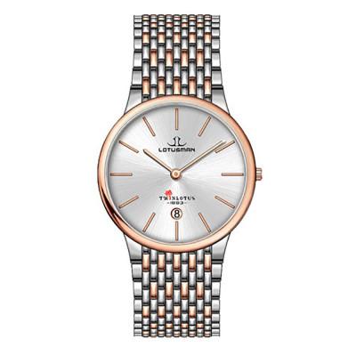 ساعت مچی مردانه اصل | برند لوتوسمن | مدل M809ACCW