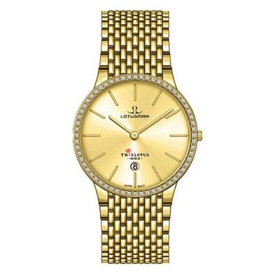 ساعت مچی مردانه اصل | برند لوتوسمن | مدل M809BGGJ