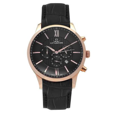 ساعت مچی مردانه اصل | برند لوتوسمن | مدل M904PCBB
