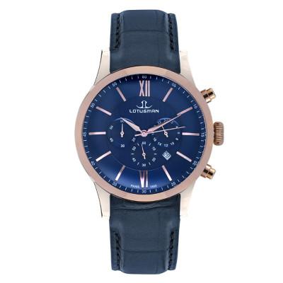 ساعت مچی مردانه اصل | برند لوتوسمن | مدل M904PCSU