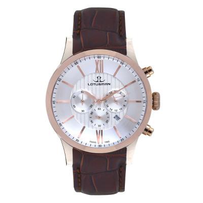 ساعت مچی مردانه اصل | برند لوتوسمن | مدل M904PCSW