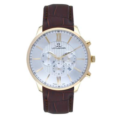ساعت مچی مردانه اصل | برند لوتوسمن | مدل M904PGYW