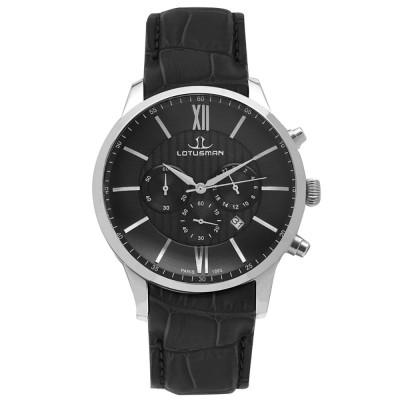 ساعت مچی مردانه اصل | برند لوتوسمن | مدل M904PSBB