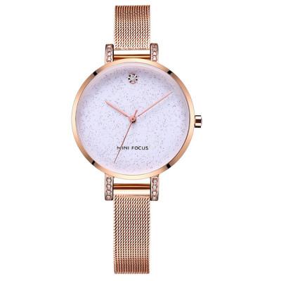 ساعت مچی زنانه اصل | برند مینی فوکوس | مدل MF0160l.02