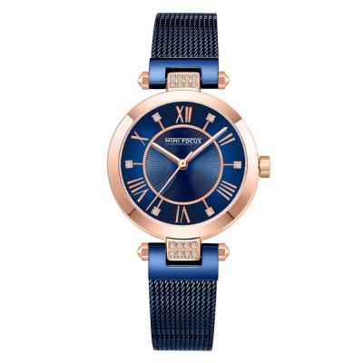 ساعت مچی زنانه اصل | برند مینی فوکوس | مدل MF0215l.04