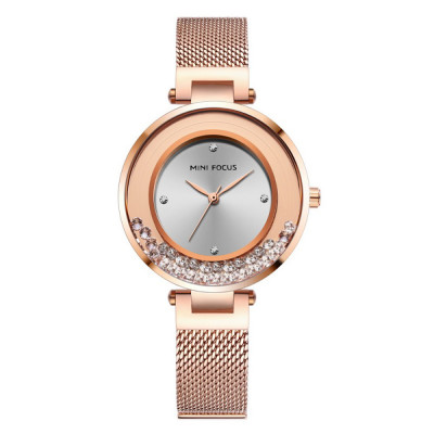 ساعت مچی زنانه اصل | برند مینی فوکوس | مدل MF0254l.02