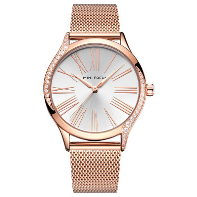 ساعت مچی زنانه اصل | برند مینی فوکوس | مدل MF0259l.05