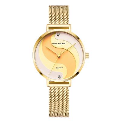 ساعت مچی زنانه اصل   برند مینی فوکوس   مدل MF0291l.05