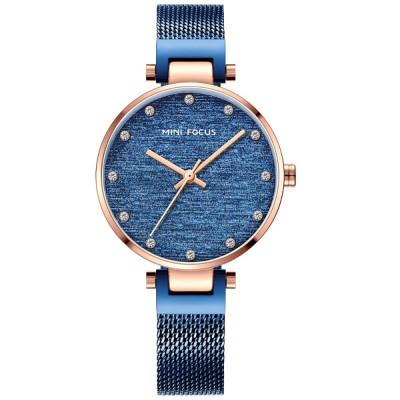 ساعت مچی زنانه اصل | برند مینی فوکوس | مدل MF0328l.04