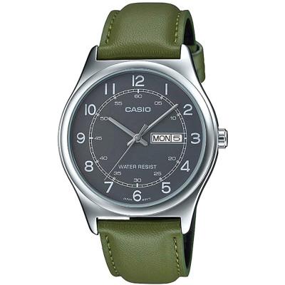 ساعت مچی مردانه اصل | برند کاسیو | مدل MTP-V006L-3BUDF