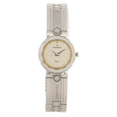 ساعت مچی زنانه اصل   برند رومانسون   مدل NM0142LL1WAS1W