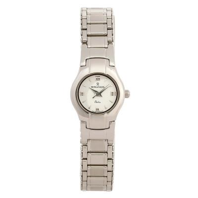 ساعت مچی زنانه اصل | برند رومانسون | مدل NM7620LL1WAS2W