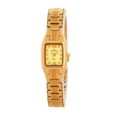 ساعت مچی زنانه اصل   برند رومانسون   مدل NM7626LL1GA81G