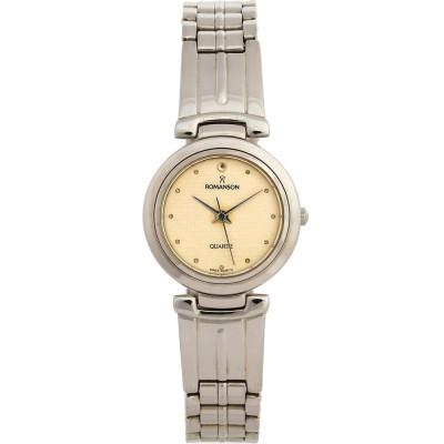 ساعت مچی زنانه اصل   برند رومانسون   مدل NM9118LL1WAS1G