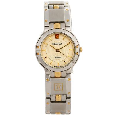 ساعت مچی زنانه اصل   برند رومانسون   مدل NM9529LL1CAS1G