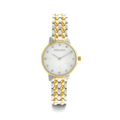 ساعت مچی زنانه اصل | برند پلیس |  مدل P 15700LSTG-D28M
