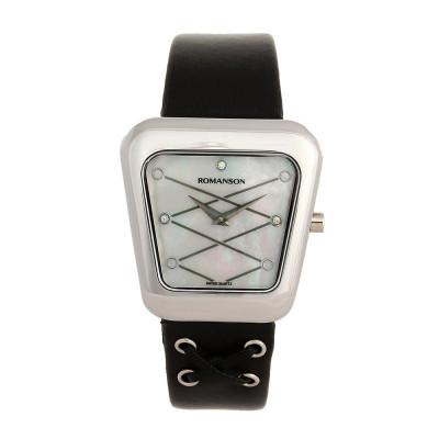 ساعت مچی زنانه اصل   برند رومانسون   مدل RL0369LL1WM12W