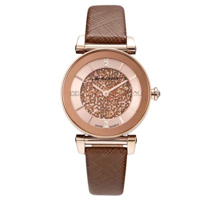 ساعت مچی زنانه اصل | برند رومانسون | مدل RL6A29LLNRACR1