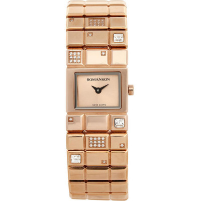 ساعت مچی زنانه اصل | برند رومانسون | مدل RM0324QL1RAC6B