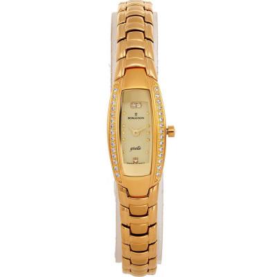 ساعت مچی زنانه اصل   برند رومانسون   مدل RM1123RL1GA81G