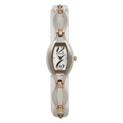 ساعت مچی زنانه اصل | برند رومانسون | مدل RM5155LL1JM16B