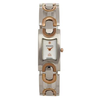 ساعت مچی زنانه اصل | برند رومانسون | مدل RM5168LL1JM16R