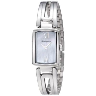 ساعت مچی زنانه اصل | برند رومانسون | مدل RM6A10LLWWM4R1