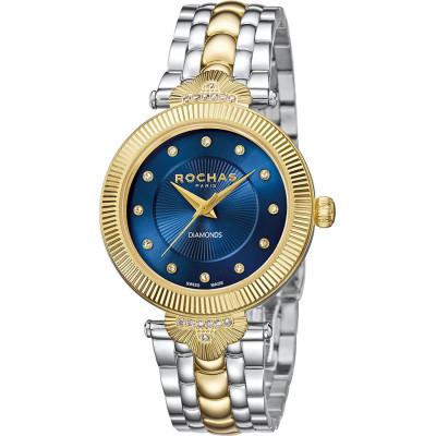 ساعت مچی زنانه اصل | برند روشاس | مدل RP2L005M0101