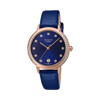 ساعت مچی زنانه اصل   برند کاسیو   مدل شین SHE-4056PGL-2AUDF