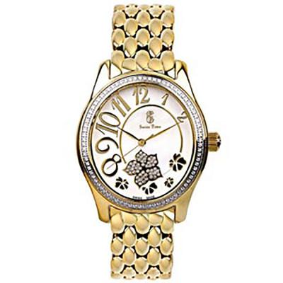 ساعت مچی زنانه اصل |برند سوئیس تایم | مدل ST-221-GP/Wh