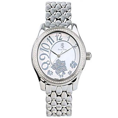 ساعت مچی زنانه اصل |برند سوئیس تایم | مدل ST-221-SS/Wh