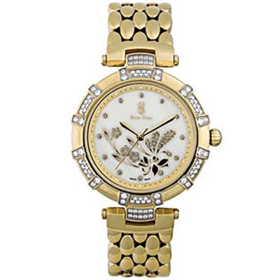 ساعت مچی زنانه اصل |برند سوئیس تایم | مدل ST-327-GP/Wh