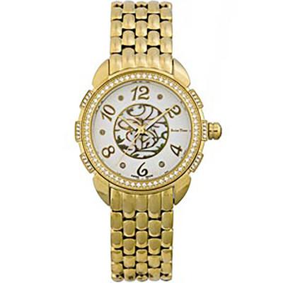 ساعت مچی زنانه اصل |برند سوئیس تایم | مدل ST-330-GP/Wh