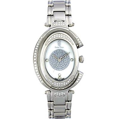 ساعت مچی زنانه اصل |برند سوئیس تایم | مدل ST-375-SS/Wh