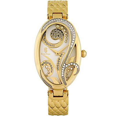 ساعت مچی زنانه اصل |برند سوئیس تایم | مدل ST-385-GP/Wh