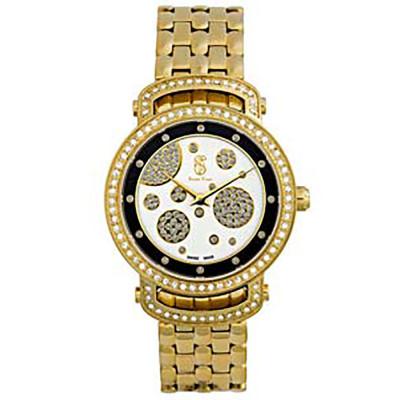 ساعت مچی زنانه اصل |برند سوئیس تایم | مدل ST-395-GP/Wh